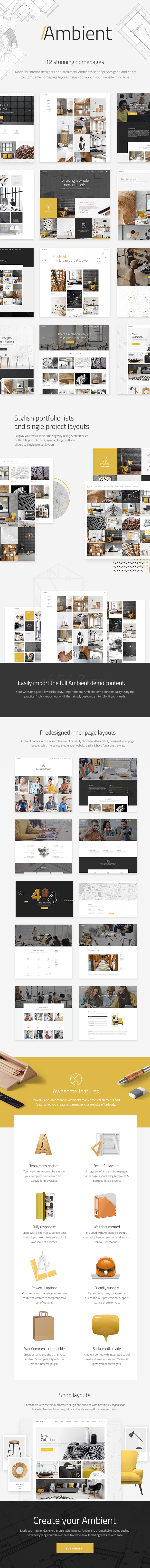 Ambient - A Contemporary Theme for Interior Design, Decoration, and Architecture (Portfolio) Ambient - A Contemporary Theme for Interior Design, Decoration, and Architecture (Portfolio) 01a